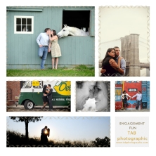 Engagement session photo tips TAB Photographic